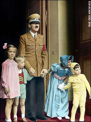 Adolf Hitler on his 50th B'day